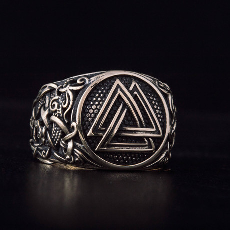Bronze Viking Collection // Mammen Ornament Signet + Valknut (6)