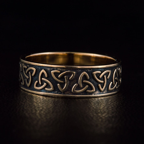 Bronze Viking Collection // Triquetra Band (6)