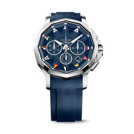 Corum Admiral Legend 42 Chronograph Automatic // A984/03156 // Story Display