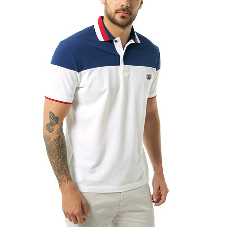 Vedasto Short-Sleeve Polo // White (Small)