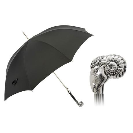Silver Arietona Luxury Umbrella