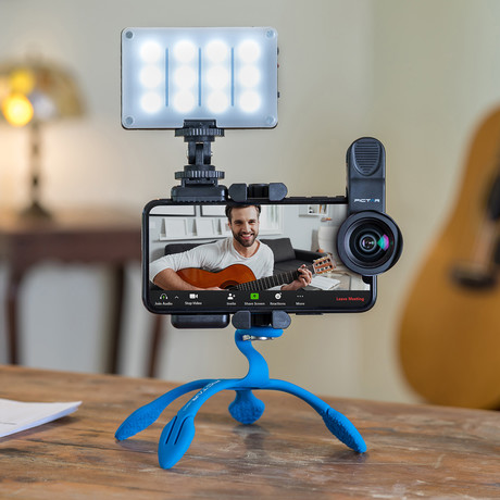 Pictar Webinar Kit // Wide Angle Smart Lens + Splat 3N1 Flexible Tripod + Smart Light