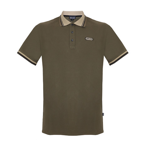 Men's Polo Shirt // Military Green (S)