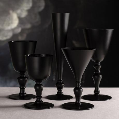 Crystal Glass Series AA // Black (7.8oz)