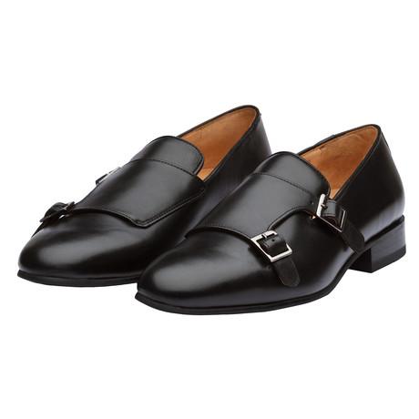Double Monk Belgian // Black (US: 7)