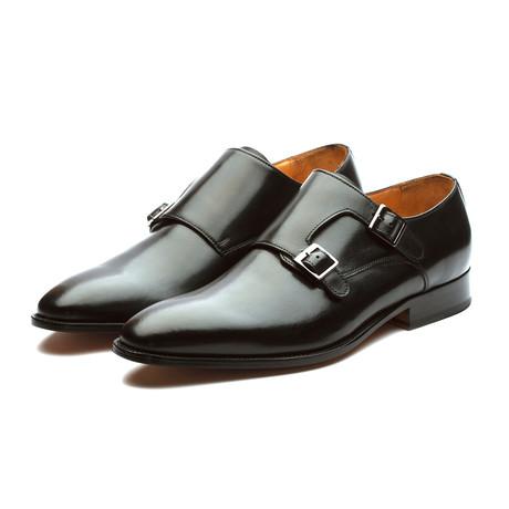 Plain Toe Double Monkstrap // Black (US: 7)