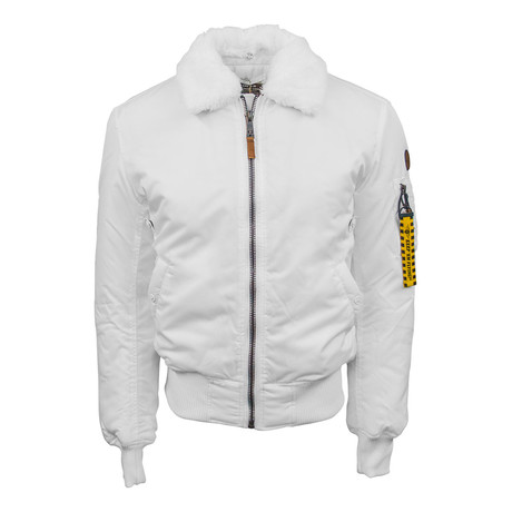 B-15 Heavy Duty Bomber Jacket // White (XS)