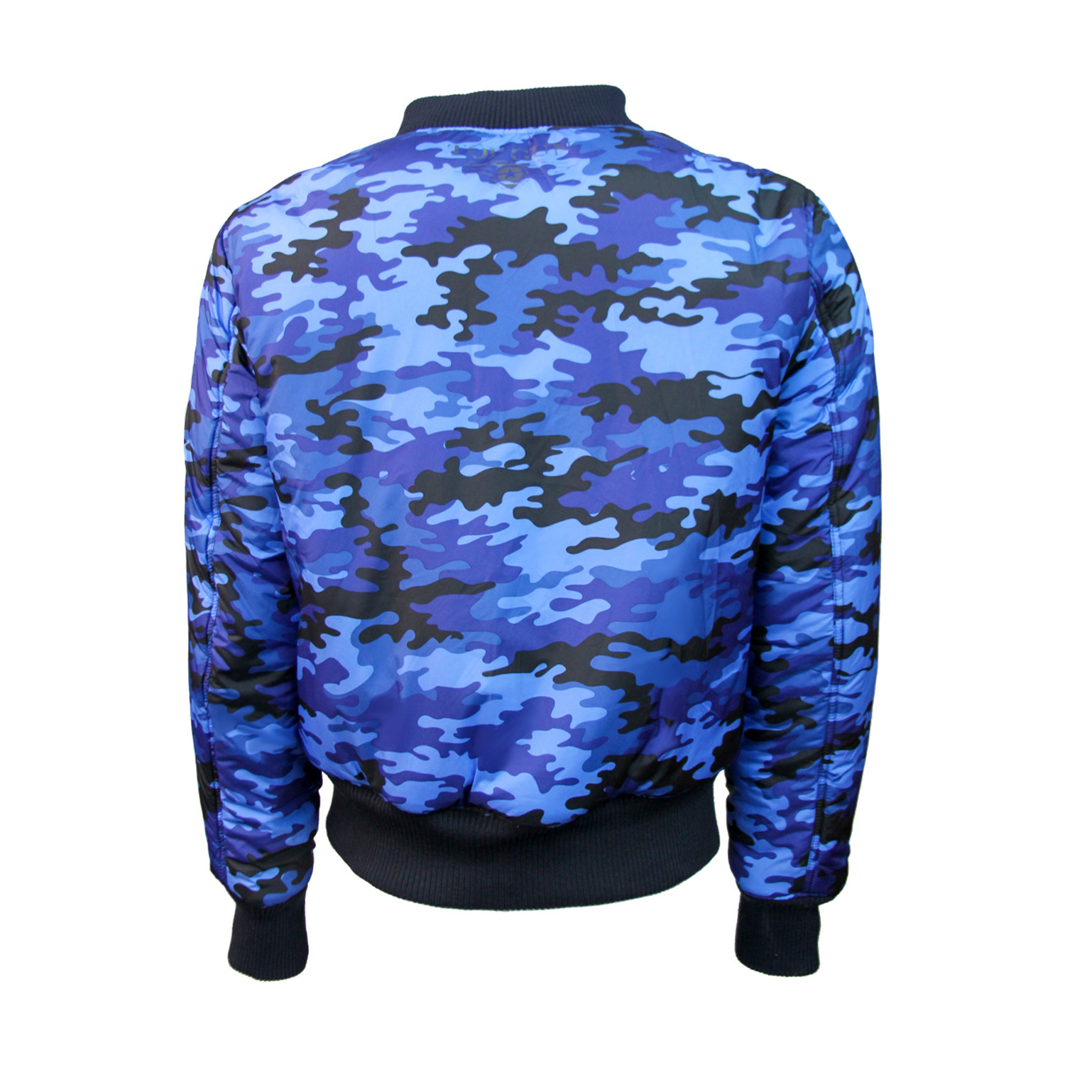 MA-1 Reversible to Camo Bomber Jacket // Navy (XS) - Top ...