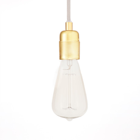 Atelier LED Bulb Collection // Clear (Drop)