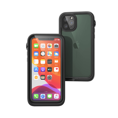 Waterproof Case // iPhone 11 Pro (Stealth Black)