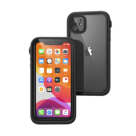Waterproof Case // iPhone 11 (Stealth Black)