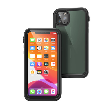 Waterproof Case // iPhone 11 Pro Max (Stealth Black)
