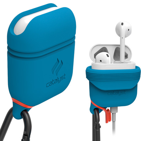 Waterproof Case // Airpods (Blue)
