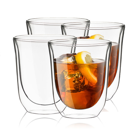 Levitea Double Wall Insulated Glasses // 8.4 oz // Set of 4