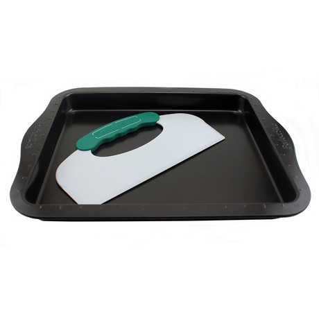 Perfect Slice 2 Piece Cookie Sheet + Tool