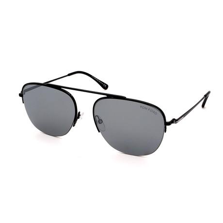 Men's FT0667-01C Sunglasses // Black + Gray
