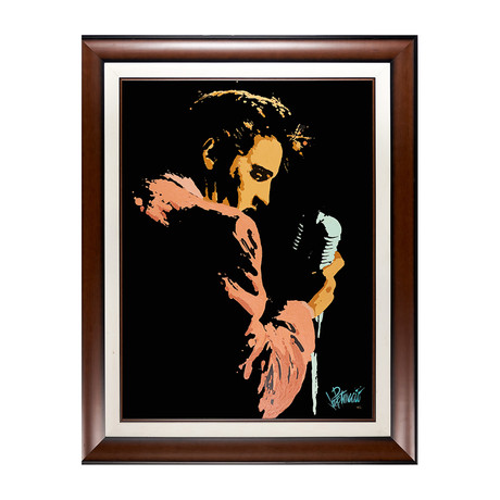Elvis Presley by Joe Petruccio // Artist Signed