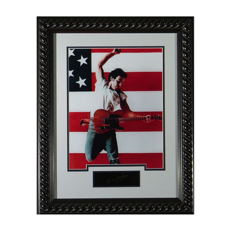 Bruce Springsteen // Born in the USA // Facsimile Signature Display