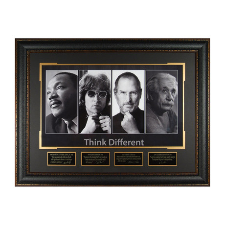 Think Different // Facsimile Signature Display
