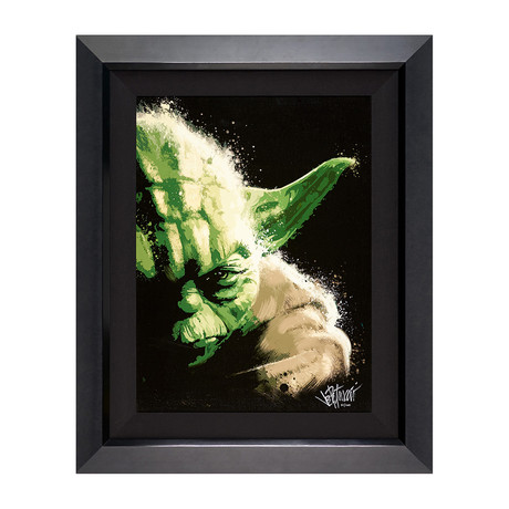 Yoda by Joe Petruccio // Artist Signed