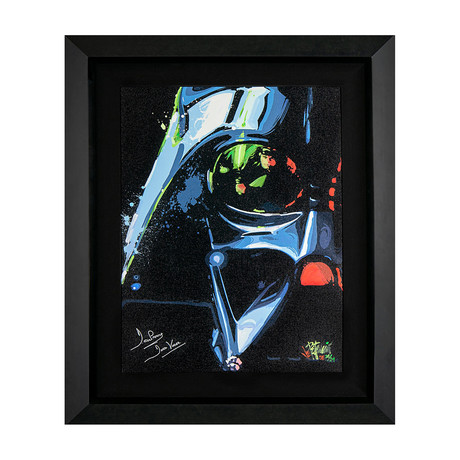 Darth Vader by Joe Petruccio // Artist Signed