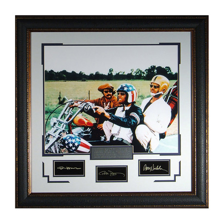 Easy Rider // Facsimile Signature Display