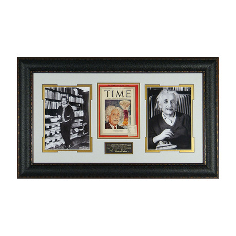 Albert Einstein // Facsimile Signature Display