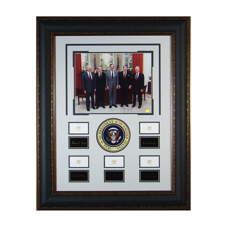 Five Presidents // Facsimile Signature Display