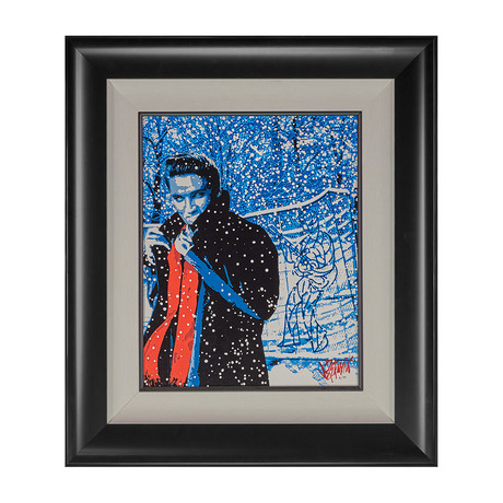 Elvis Presley by Joe Petruccio // Let's Play House // Artist Signed
