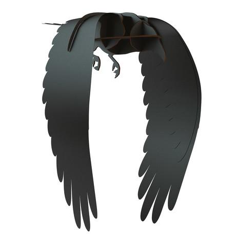 Ravens Karl // Decorative Item // Brushed Black