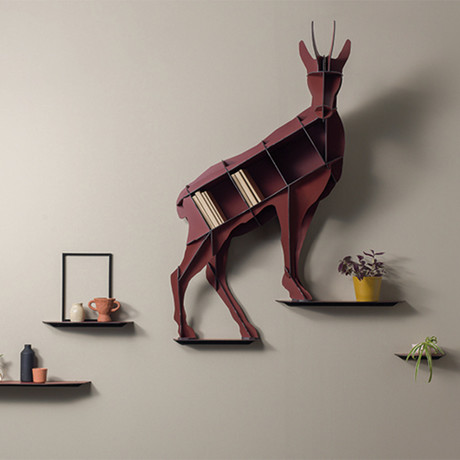 Horace // Wall Shelf // Acrobat Chamois