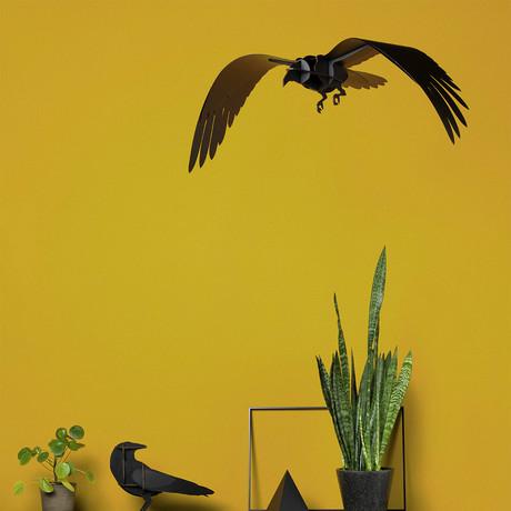 Ravens Adam // Decorative Item  // Brushed Black