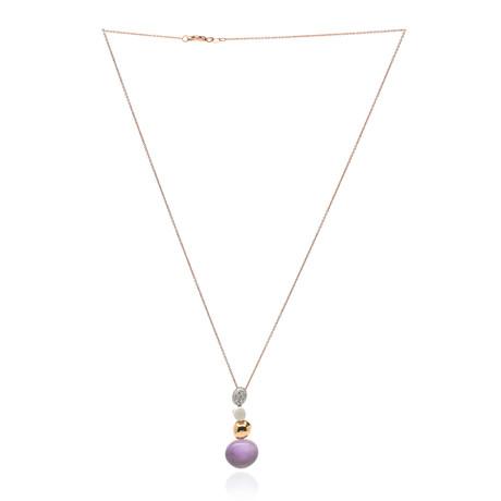 Roberto Coin 18k White Gold Diamond Necklace