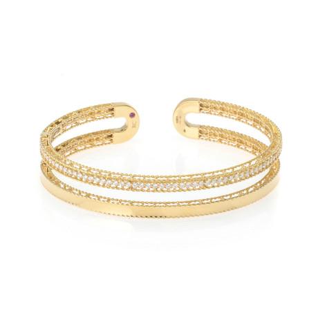 Roberto Coin 18k Yellow Gold Diamond Bracelet II
