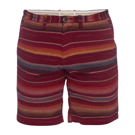 Morgan Bermuda Short // Red (28)