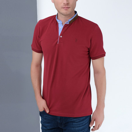 Beckett Polo // Burgundy (Small)