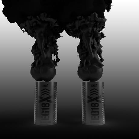 EG18X Smoke Grenade // 2 Pack (Black)