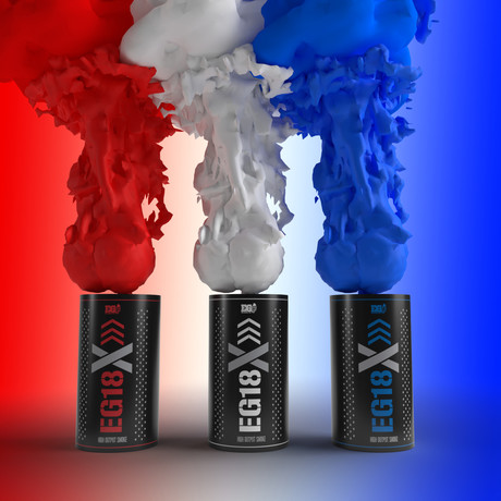 EG18X Smoke Grenade // 4th of July // 3 Pack