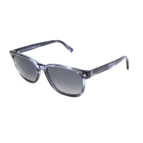Men's EZ0075 Polarized Sunglasses // Blue + Gray