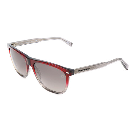 Men's EZ0041 Sunglasses // Bordeaux + Gray