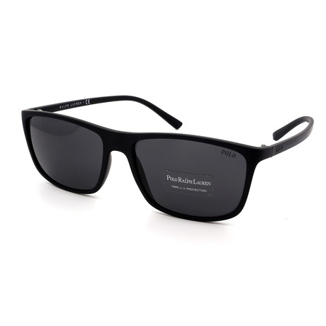 Polo // Men's PH4115-528487 Sunglasses // Black + Gray