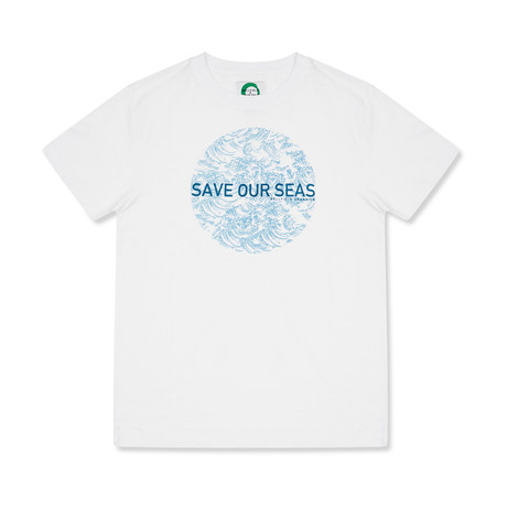 Save Our Seas T-Shirt // White (S)