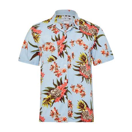 Pineapple Shirt // Pale Blue (S)