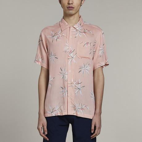 Anguilla Short Sleeve Shirt // Pink (S)