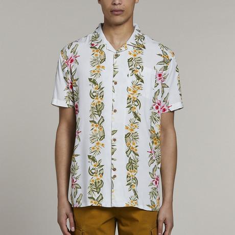 Hawaiian Short-Sleeve Shirt // White (S)