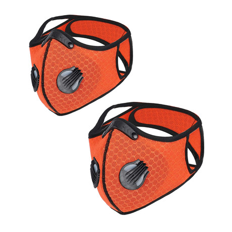 SPORT FACE MASK // 2-Pack // Orange