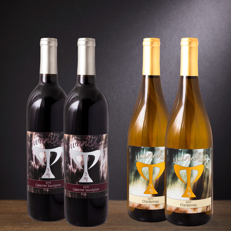 Cabernet + Chardonnay // Set of 4