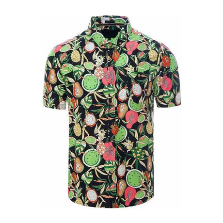 Fruity Shirt // Navy (S)