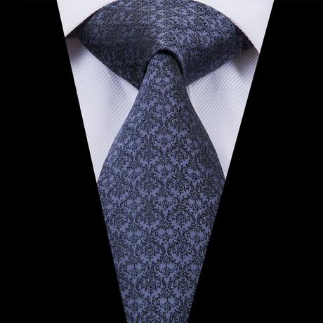 Sheen Handmade Silk Tie // Obsidian