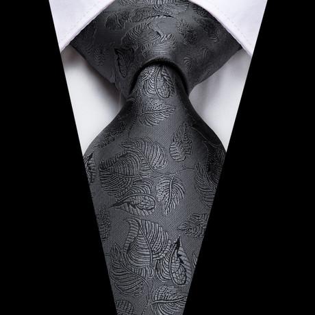 Wilder Handmade Silk Tie // Black